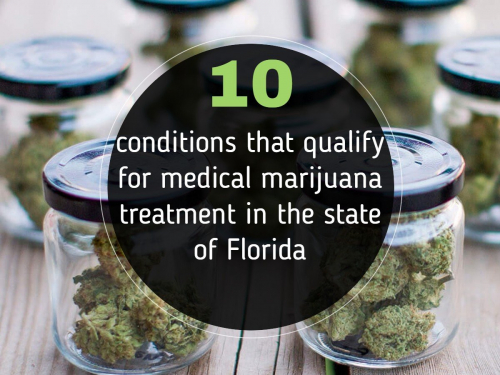 10 conditions that qualify for medical marijuana treatment in the state of Florida