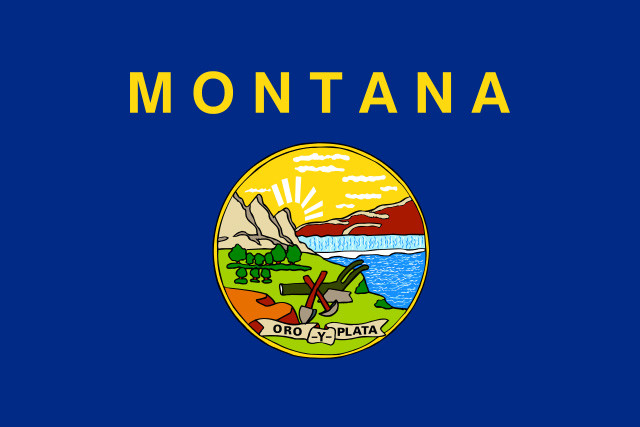Montana Medical Marijuana Doctors Flag