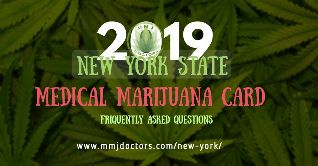 Marijuana Card NYS 2019 FAQ