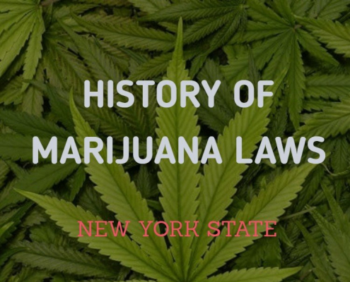 Marijuana laws in New York State