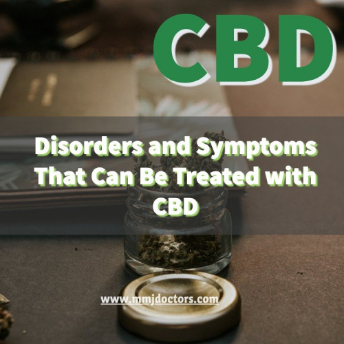 what can be treated with CBD