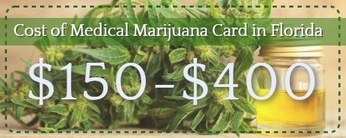 florida medical marijuana card cost