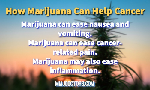 Cannabis Helps Cancer Patients
