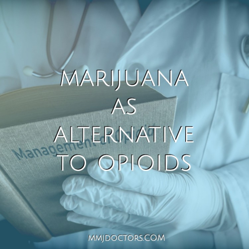 Medical marijuana and opioids