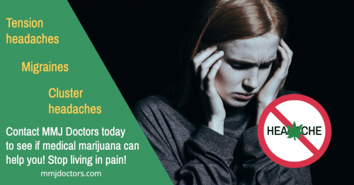Medical Marijuana Helps with Headaches