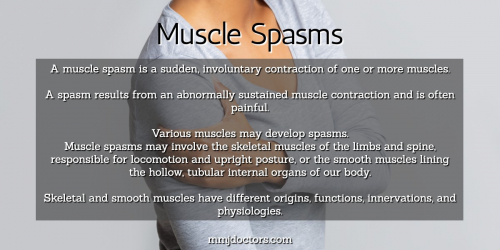 Muscle Spasms Types