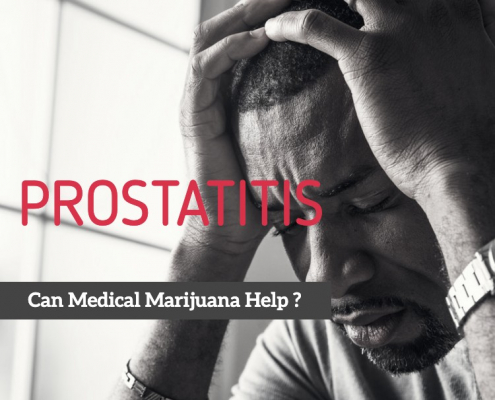 Medical marijuana for prostatitis
