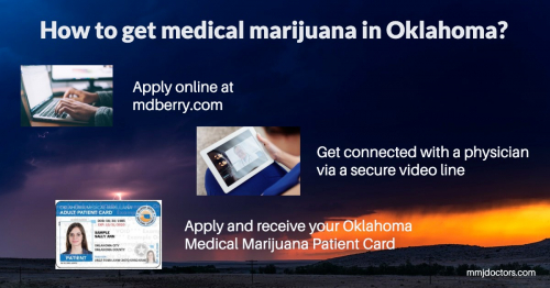 medical marijuana card in Oklahoma